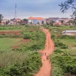 De route Oeganda Marathon 2015