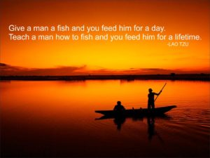 Teach a man to fish (1)
